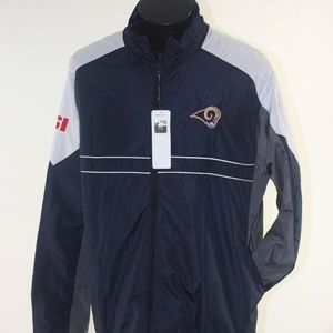 Los Angeles Rams NFL Apparel Jacket Windbreaker